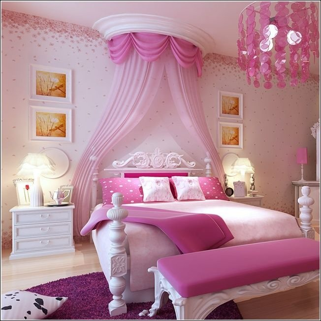 Best 25 Purple Kids Bedrooms Ideas On Pinterest Canopy With Pictures
