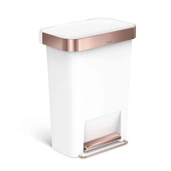 Best 15 Stylish Trash Cans The Everygirl Works Pinterest With Pictures