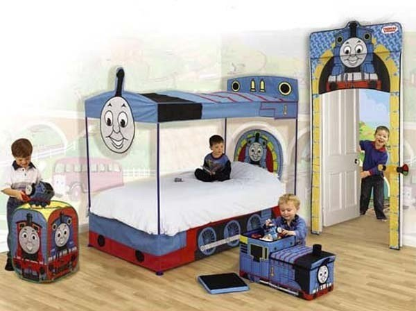Best Kids Bedroom Ideas With Thomas The Tank Engine Theme All With Pictures