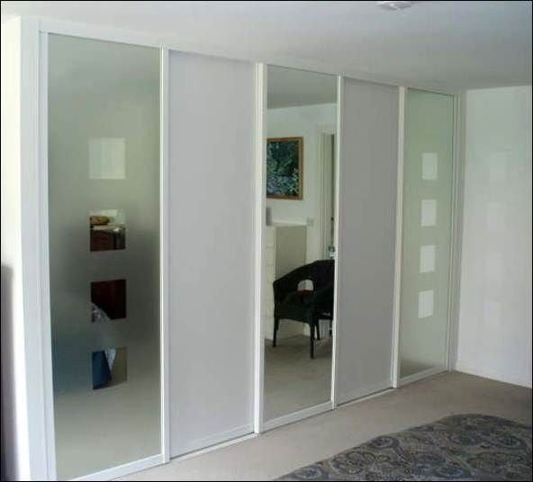 Best Furniture Beautiful White Wardrobe Design With Mirror With Pictures