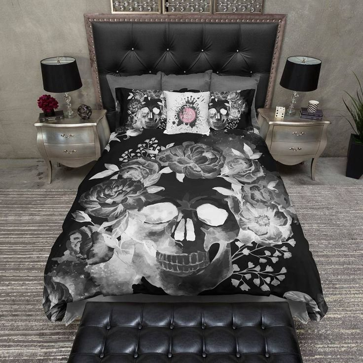 Best 25 Best Ideas About Skull Bedroom On Pinterest Sugar Skull Decor Skull Decor And Skull Furniture With Pictures
