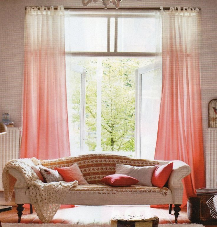Best 25 Best Ideas About Coral Curtains On Pinterest Navy With Pictures