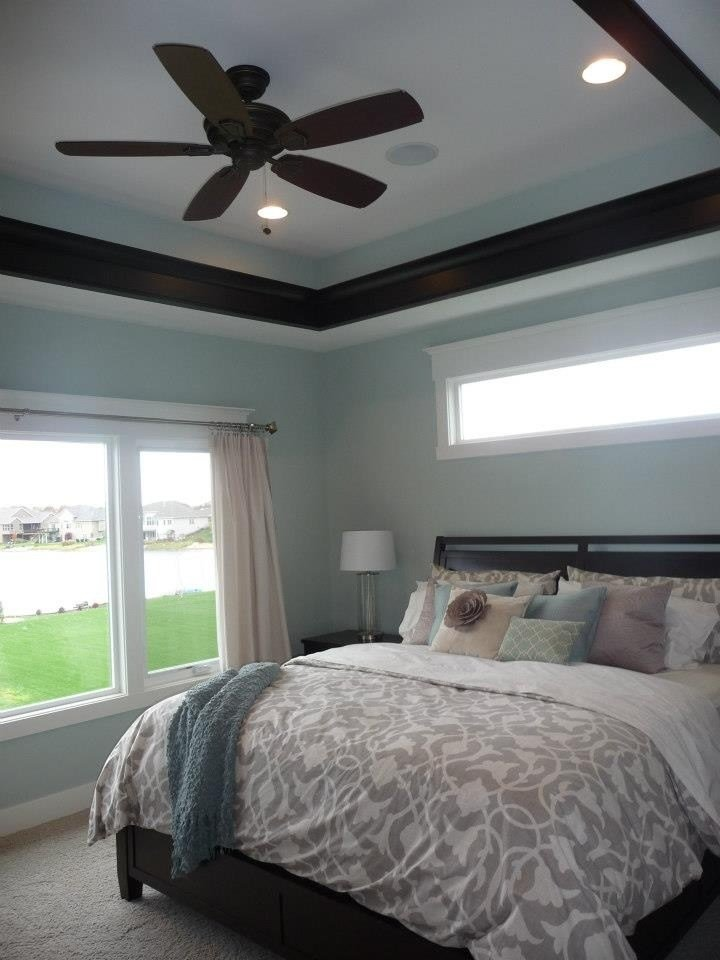 Best Bedroom Windows Crown Molding Above Small Window Home With Pictures