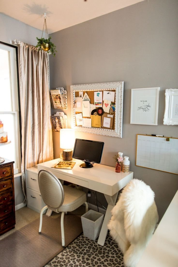 Best 17 Best Ideas About Small Bedroom Office On Pinterest With Pictures
