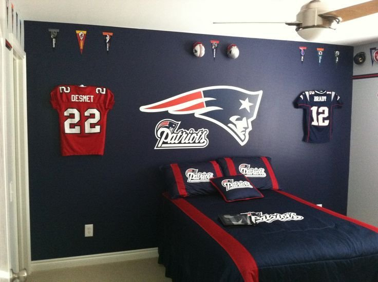 Best New England Patriots Room Paint Ideas Google Search With Pictures