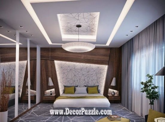 Best Modern Plaster Of Paris Designs For Bedroom 2015 Pop With Pictures