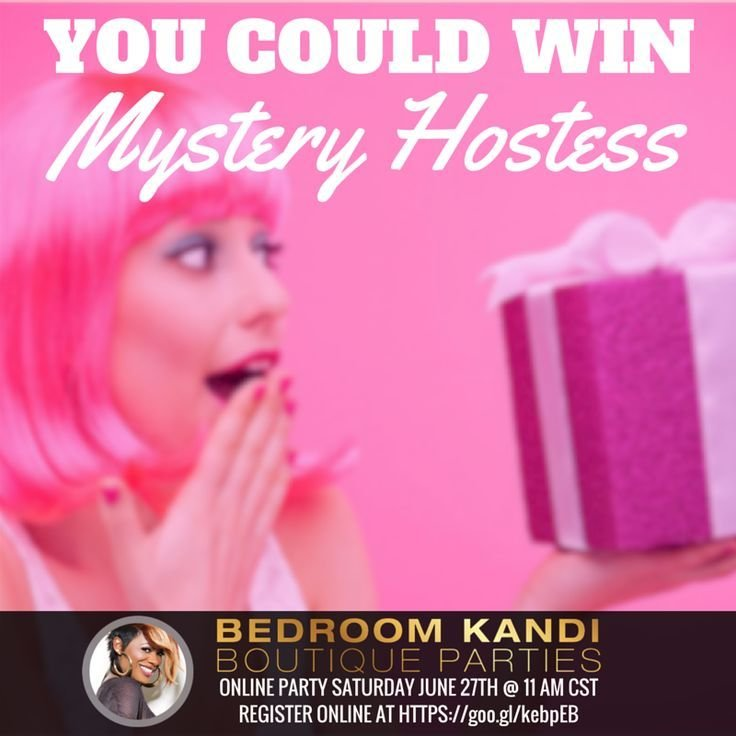 Best One Lucky Attendee Will Be The Mystery Hostess To With Pictures