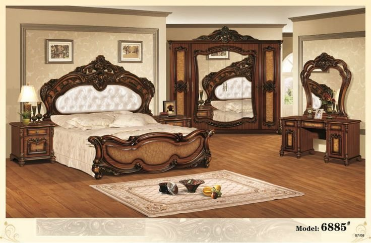 Best European Style King Size Home Furniture Antique Bedroom With Pictures