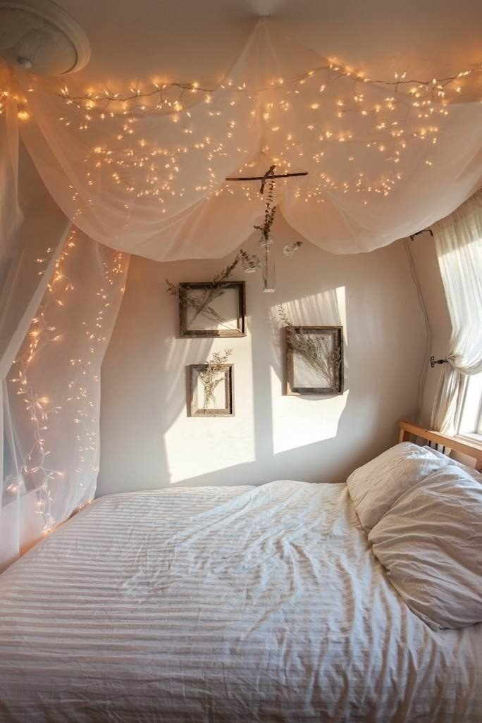Best 78 Ideas About String Lights Bedroom On Pinterest Sensi With Pictures