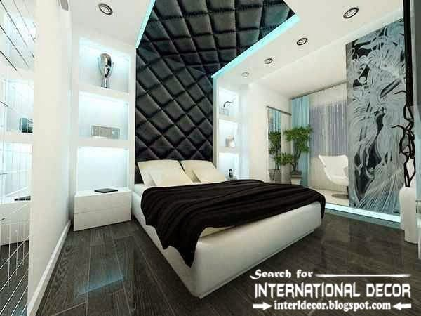 Best Modern Pop False Ceiling Designs For Bedroom 2015 Leather With Pictures