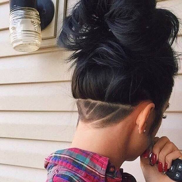 Free Shaved Back Shave Girl Hair Unique Hairstyles Hair Wallpaper