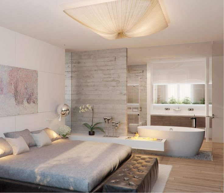Best 10 Best Images About Open Plan Bedroom Bathroom Ideas On With Pictures