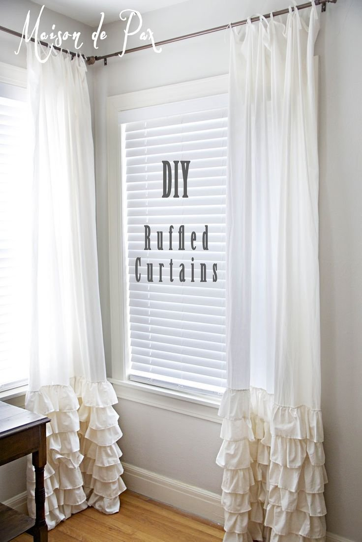 Best 25 Best Ideas About Ruffle Curtains On Pinterest With Pictures