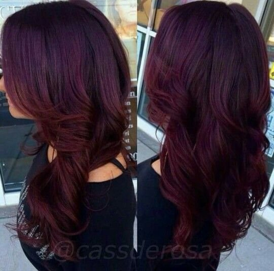 Free 1000 Images About Red Violet Hair On Pinterest Violets Medium Brown And Natural Straight Hair Wallpaper