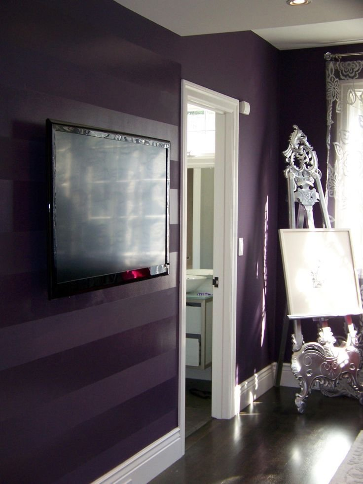 Best 17 Best Ideas About Purple Walls On Pinterest Purple With Pictures