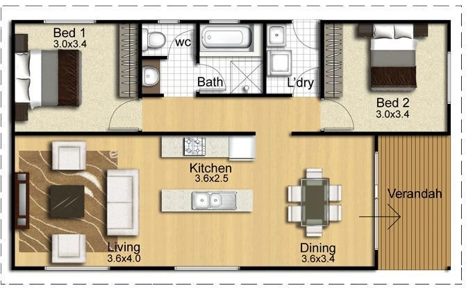 Best 1000 Images About Granny Flats On Pinterest House Plans With Pictures