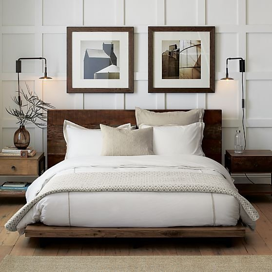 Best Atwood Bed Without Bookcase Footboard Crate And Barrel With Pictures