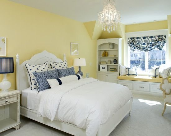 Best Love The Blue Yellow Bedroom Design Pictures With Pictures