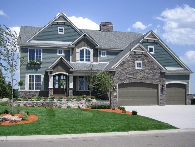 Best This 4 Bedroom Home Features A Large Two Story Great Room House Plan 271511 House Ideas With Pictures