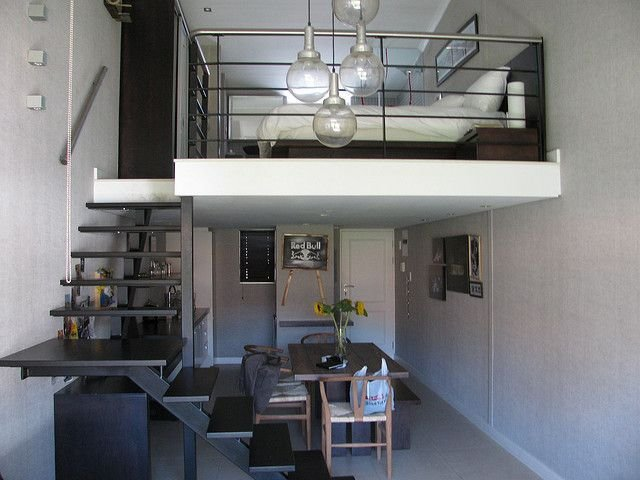Best Pretty Suspended Bedroom For The Small Area Split Level With Pictures