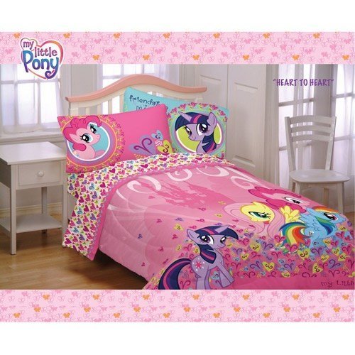Best My Little Pony Twin Full Comforter For Little Girls With Pictures