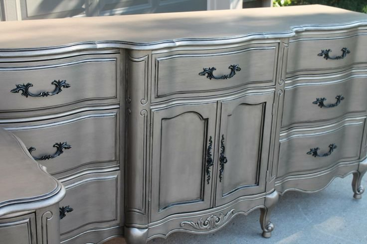 Best 155 Best Images About Metallic Paint Furniture On With Pictures