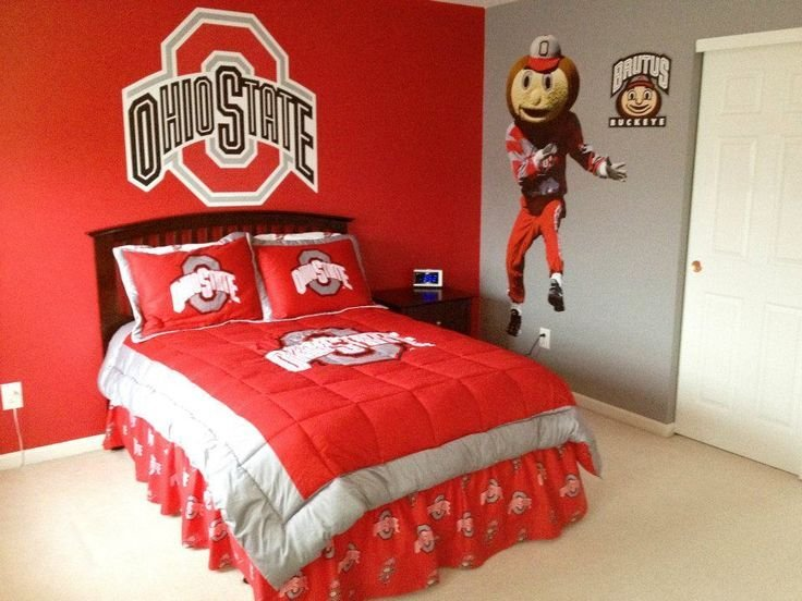 Best The Ohio State Room I Designed Painted And Decorated For With Pictures