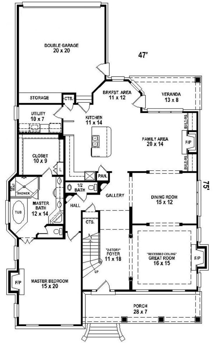 Best 2 Story House Plan Narrow Lot Courtyard Downstairs With Pictures
