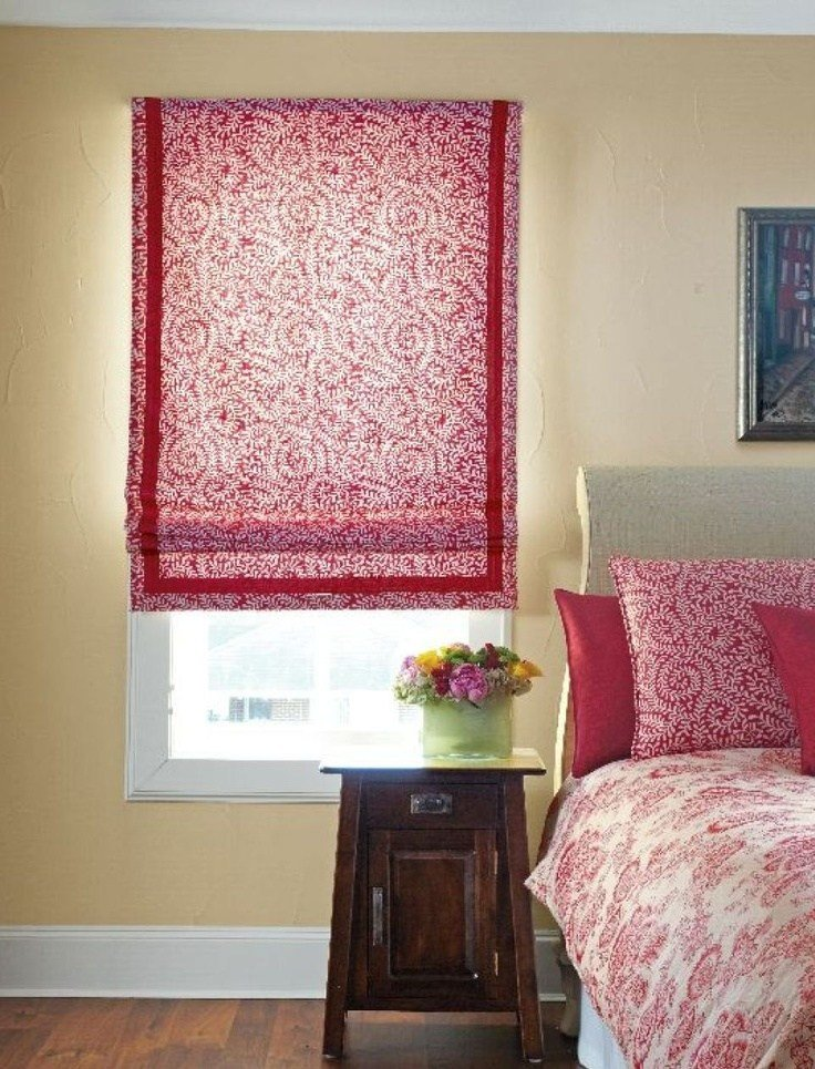 Best Bedrooms Fabric Shades Pinterest Window Treatments With Pictures