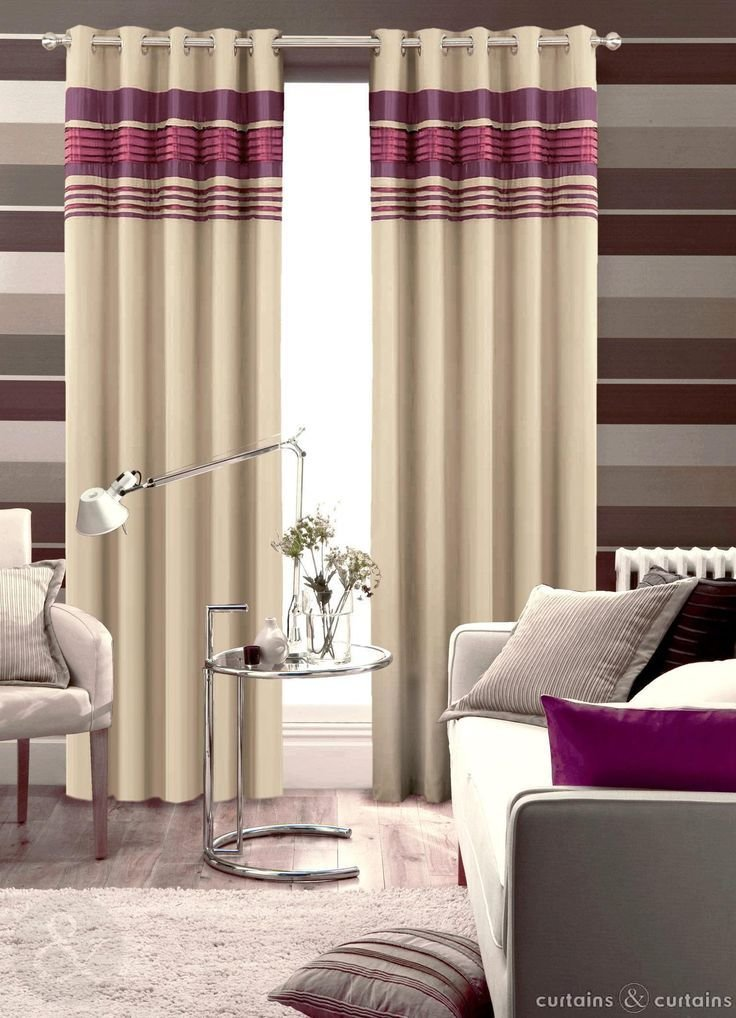 Best Next Aubergine Purple Readymade Eyelet Curtain Purple With Pictures
