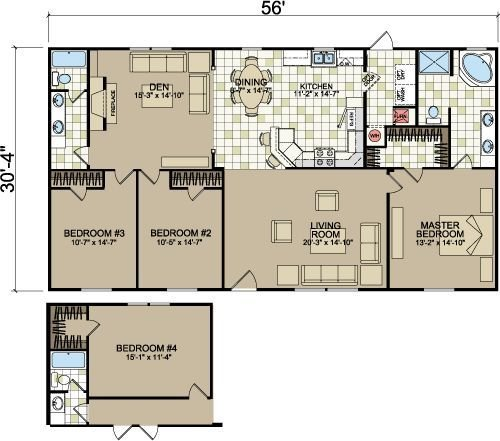 Best Layouts Of Doublewides From Freedom Homes Champion Homes Double Wides 181 South Homes With Pictures