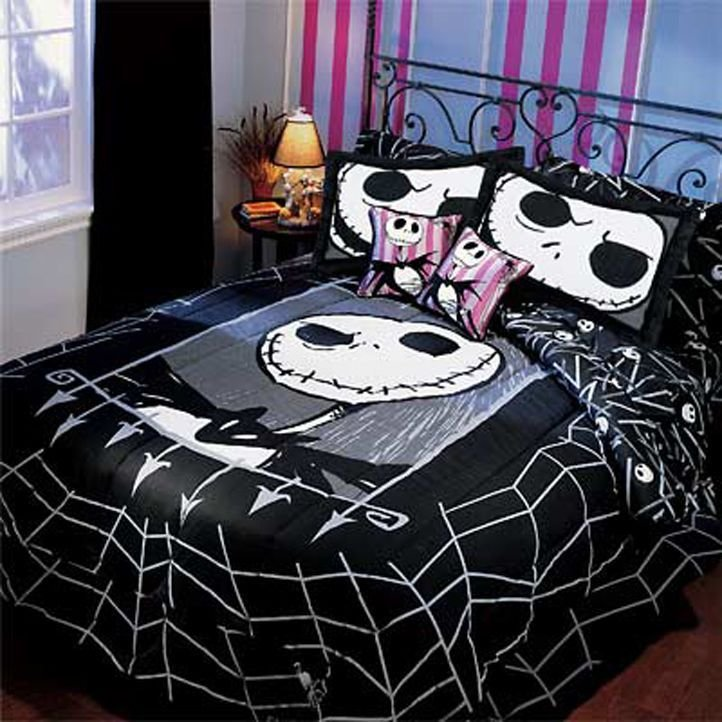 Best Very Rare Nightmare Before Christmas Twin Comforter Bedding Brand New 2005 Nightmare Before With Pictures