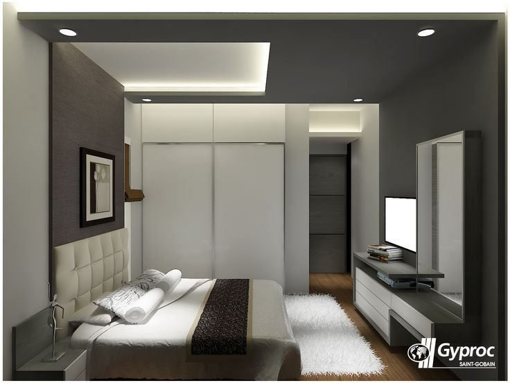 Best Let The Shades Of Gray Make Your Luxurious Bedroom Stand Out To Know More Www Gyproc In With Pictures