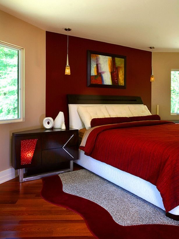 Best I Am Loving This Red Bedroom When Typically I Wouldn T I With Pictures