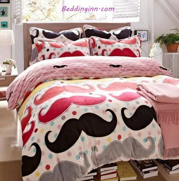 Best Mustache Bed Set Textile Pinterest Tyxgb76Aj This With Pictures