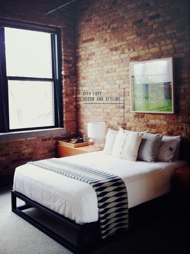 Best 20 Exposed Brick Bedroom Ideas On Pinterest With Pictures
