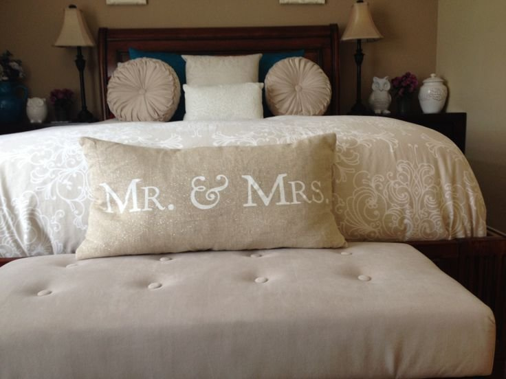 Best Mr And Mrs Throw Pillow Bedroom Decor Home Pinterest With Pictures