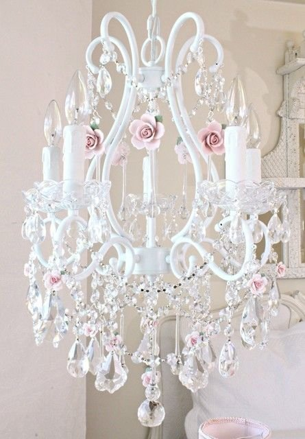 Best 20 Shabby Chic Chandelier Ideas On Pinterest With Pictures