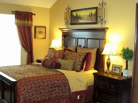 Best 26 Best Images About Red And Gold Bedroom On Pinterest With Pictures
