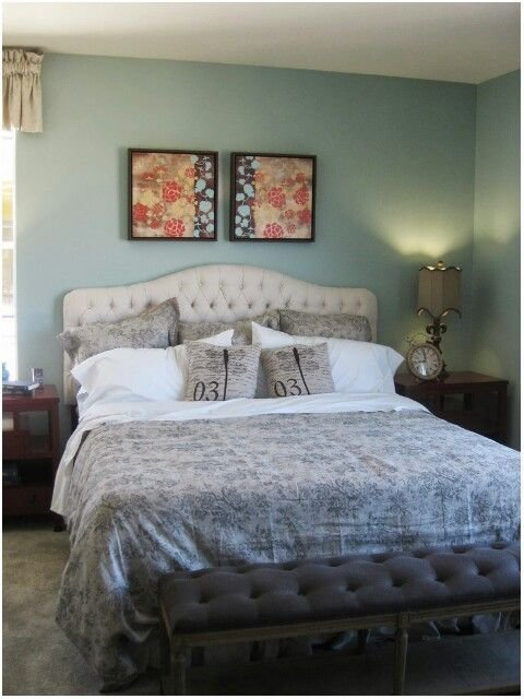 Best Master Bedroom 2 Grey White Mint Green There S No With Pictures