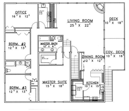 Best House Plan 039 00381 2 500 Square Feet 3 Bedrooms 3 With Pictures