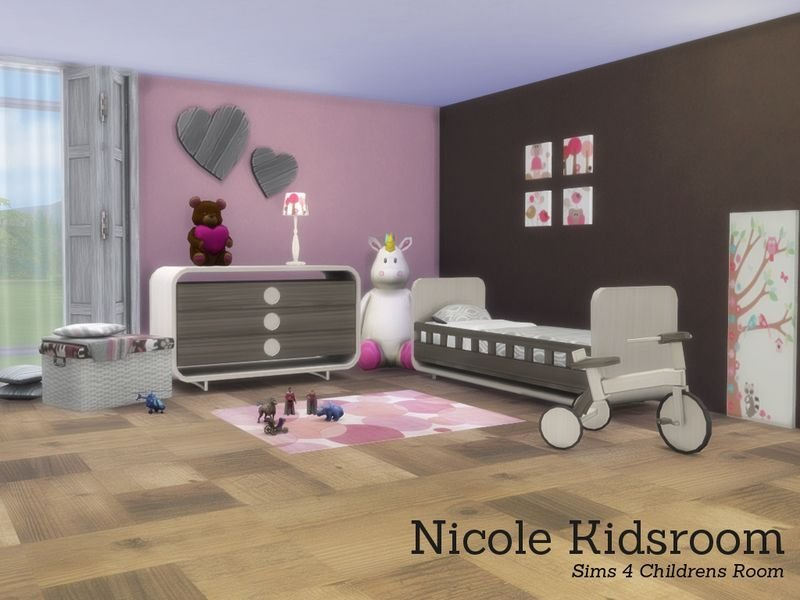 Best Nicole Kidsroom Found In Tsr Category Sims 4 Kids With Pictures