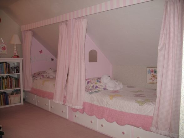 Best Attic Bedrooms With Slanted Ceilings Making A Sloped With Pictures