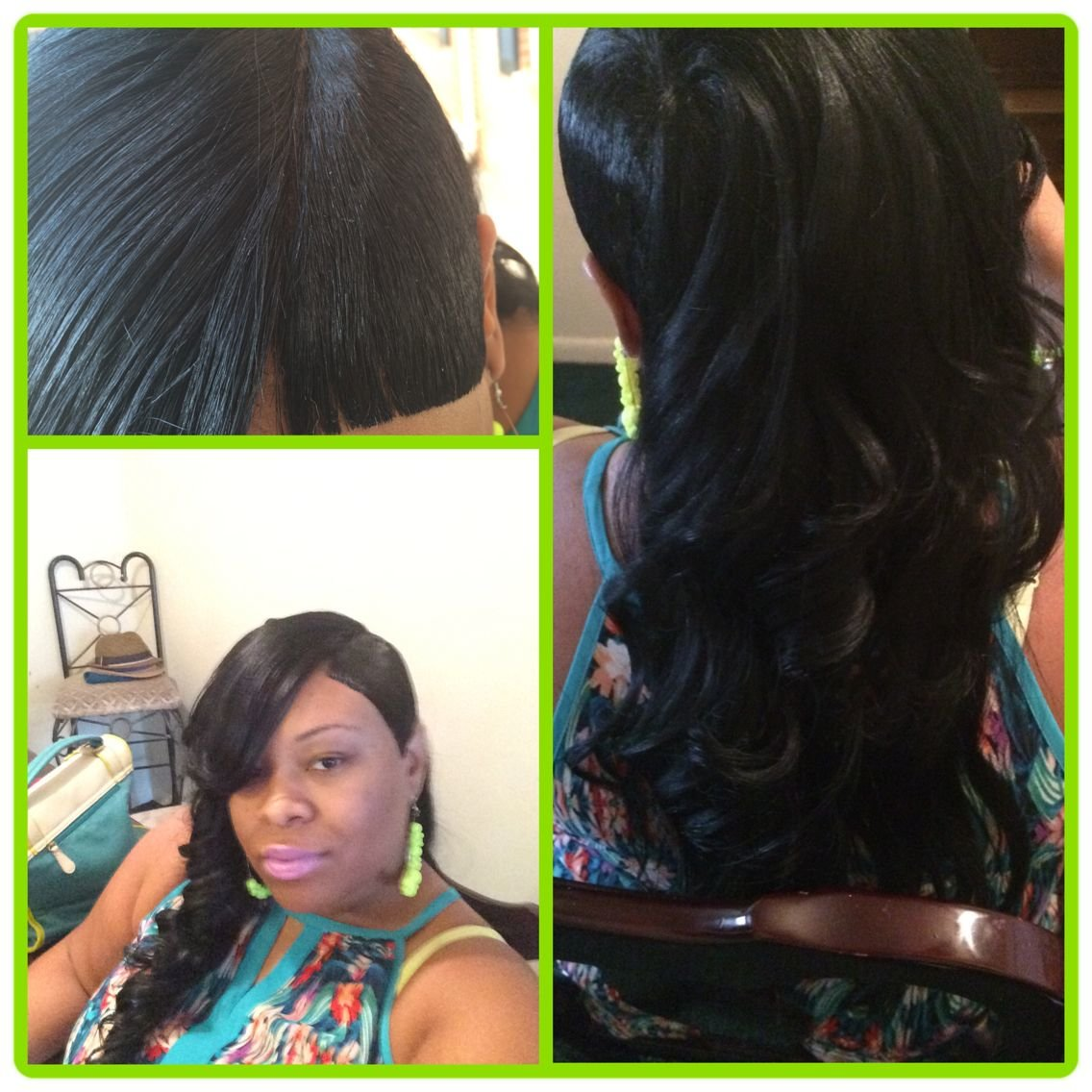 Free 27 Piece Quick Weave Shaved Side With Invisible Part And Wallpaper