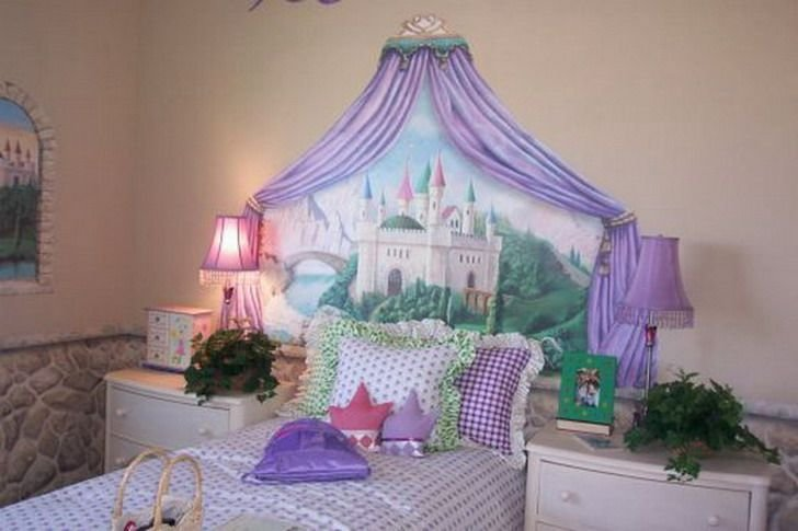 Best Castle Disney Princess Wall Mural Decorating Pinterest With Pictures