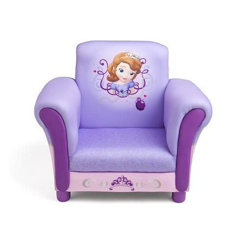 Best Disney Junior Sofia The First Upholstered Chair Disney With Pictures