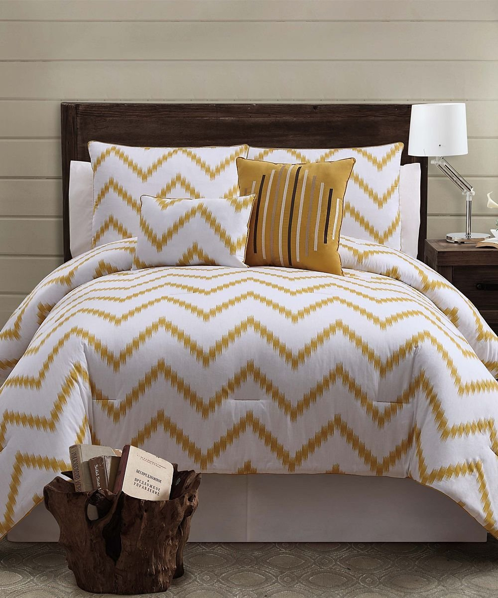 Best Gold Zigfield Comforter Set Something Special Every Day With Pictures