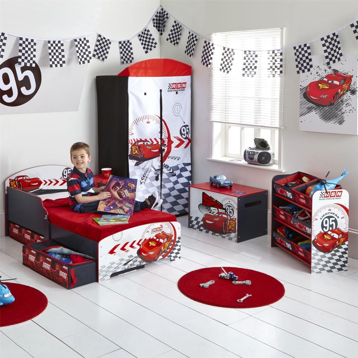 Best Cars Toddler Bed Disney Cars Toddler Bed With Underbed Storage Shelf Snuggle Up To With Pictures