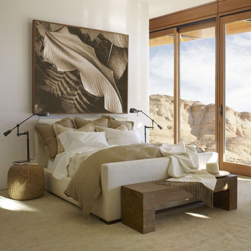 Best Desert Modern Bed Beds Furniture Products Ralph Lauren Home Ralphlaurenhome Com With Pictures