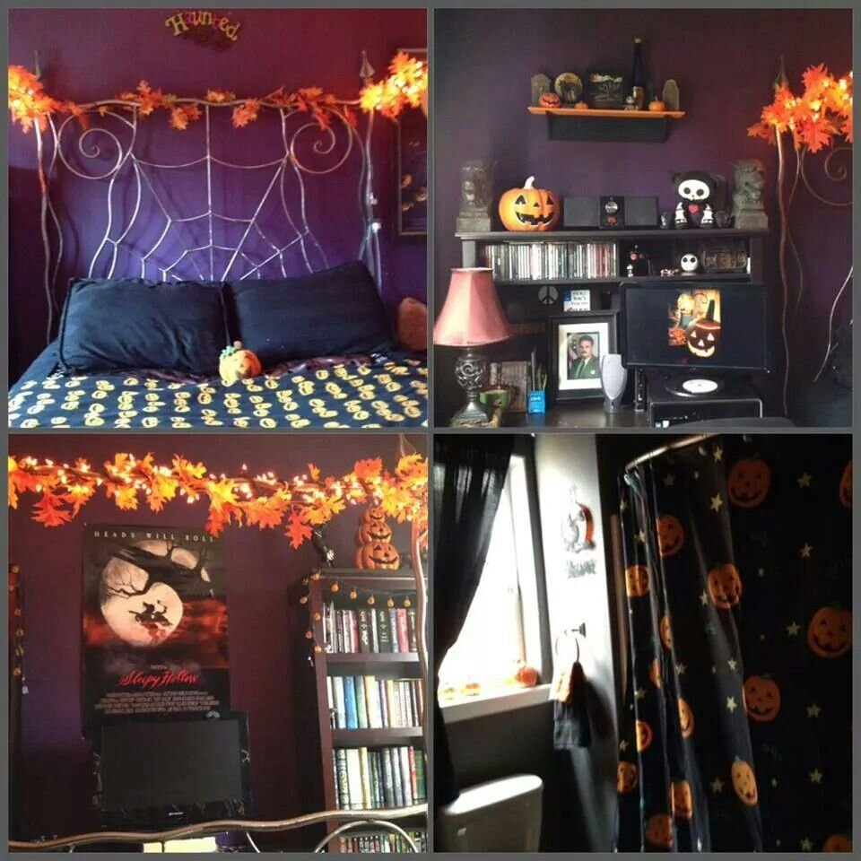 Best Halloween Bedroom Ideas For The House Pinterest With Pictures